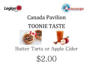 Canada Toonie Taste