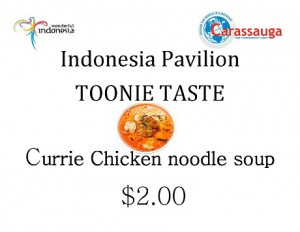 Indonesia - Currie Chicken soup