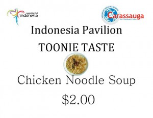 Indonesia - chicken noodle soup