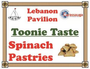 LebanonSpinachPastries