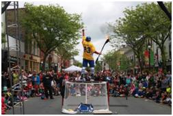 Paz's hockey Circus Show