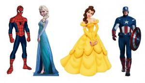 Princesses-Superheros