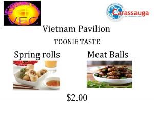 Vietnam Pavilion -Toonie Taste