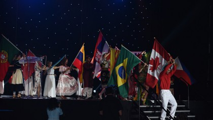 Carassauga Performs at Special Olympics