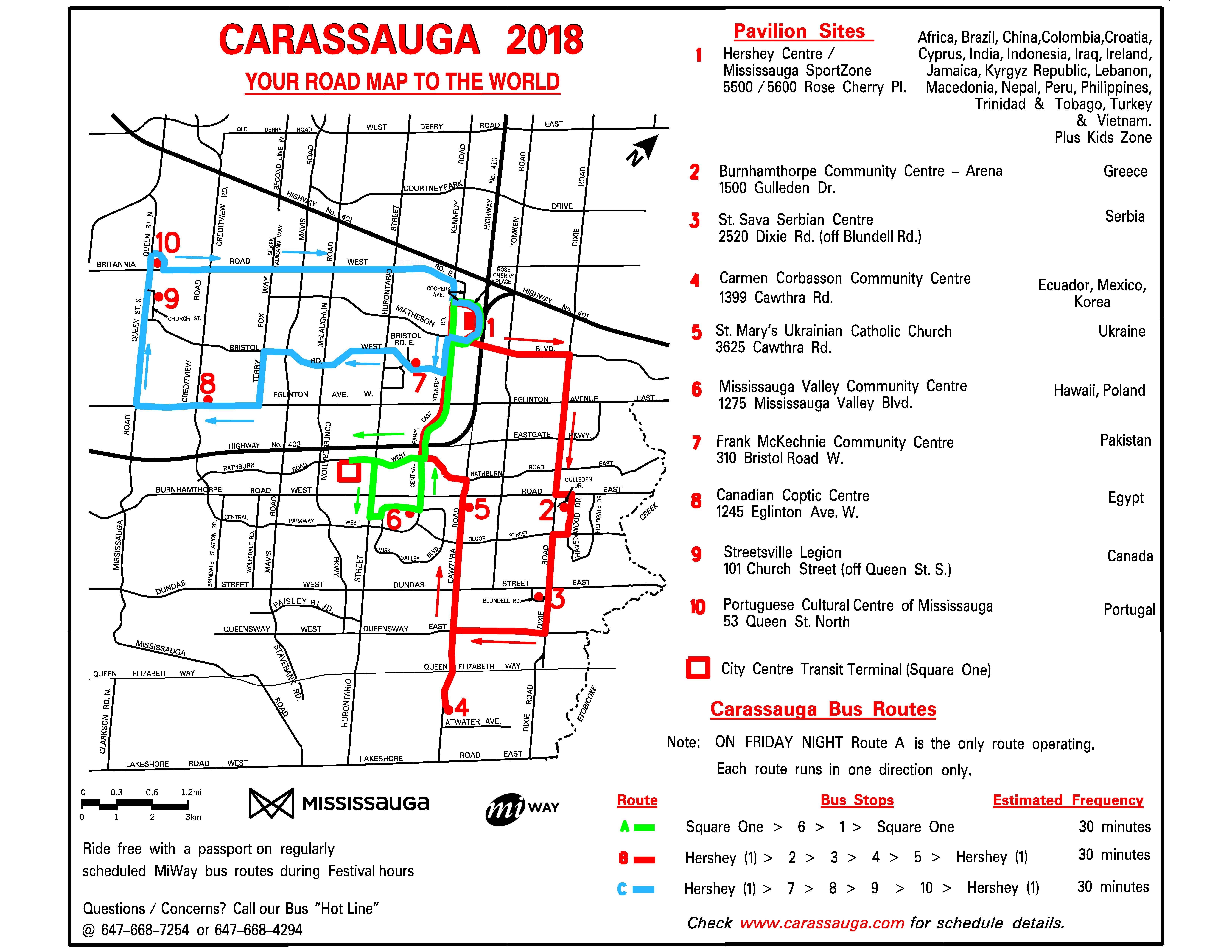 carassauga buses | carassauga festival